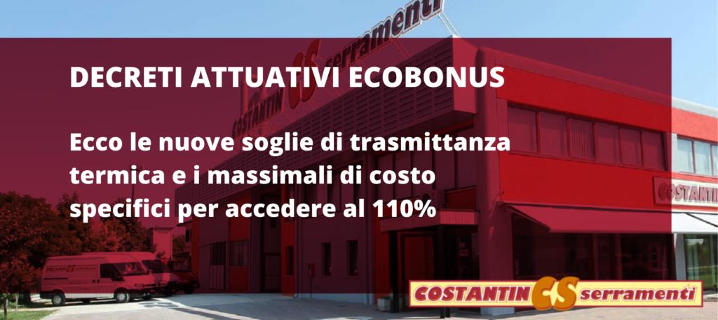 decreti attuativi ecobonus 110%: ecco le finestre che devi acquistare per la tua casa a Padova
