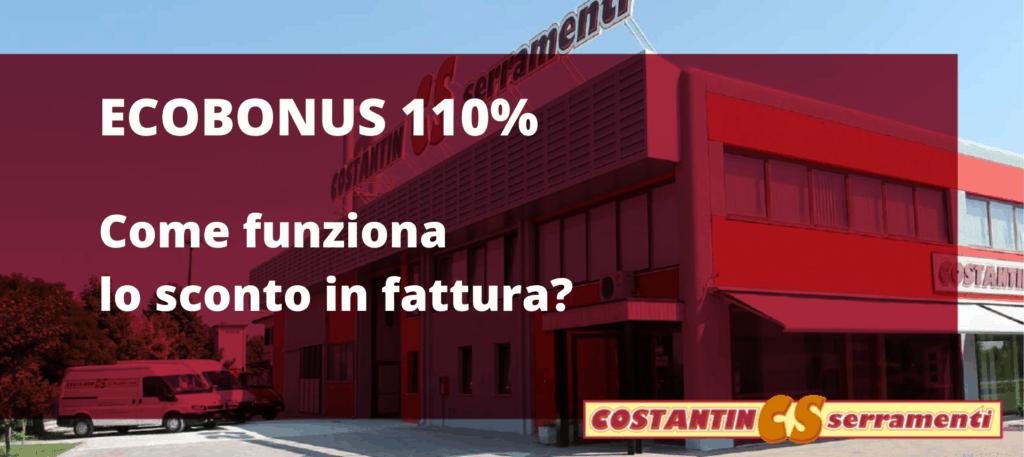 Ecobonus sconto in fattura per i tuoi nuovi serramenti a Padova