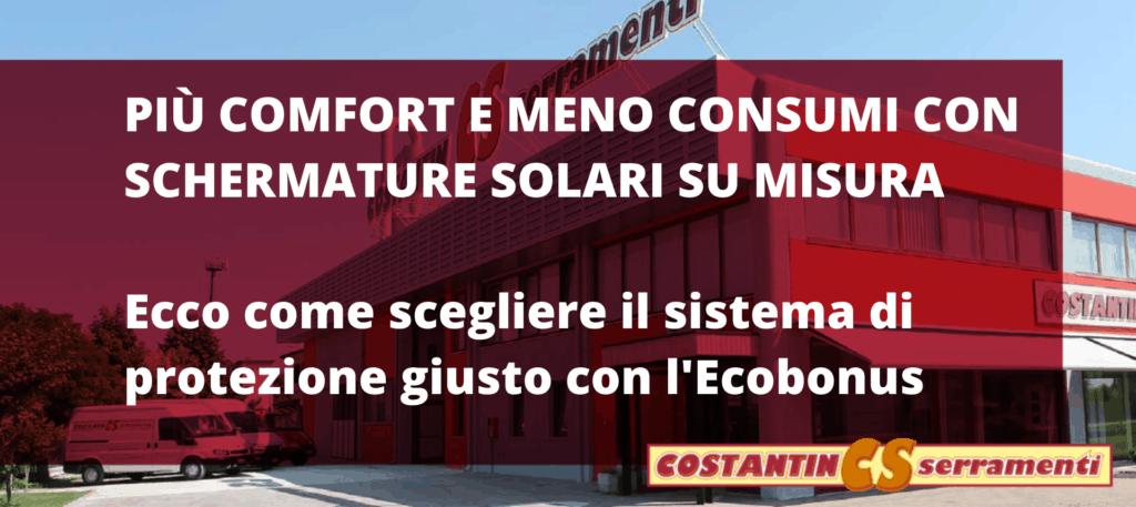 schermature solari rovigo: come scegliere quelle giuste con l'Ecobonus